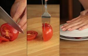 Life Hack: Tomaten richtig schneiden