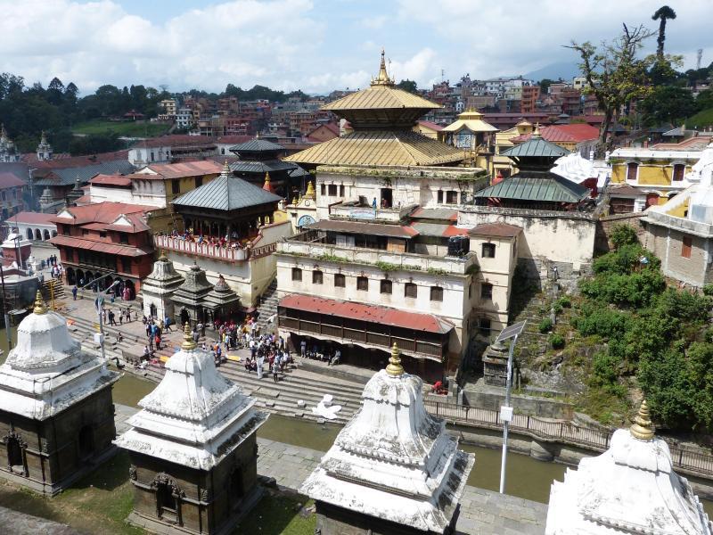 Bild zu Tempelkomplex Pashupatinath
