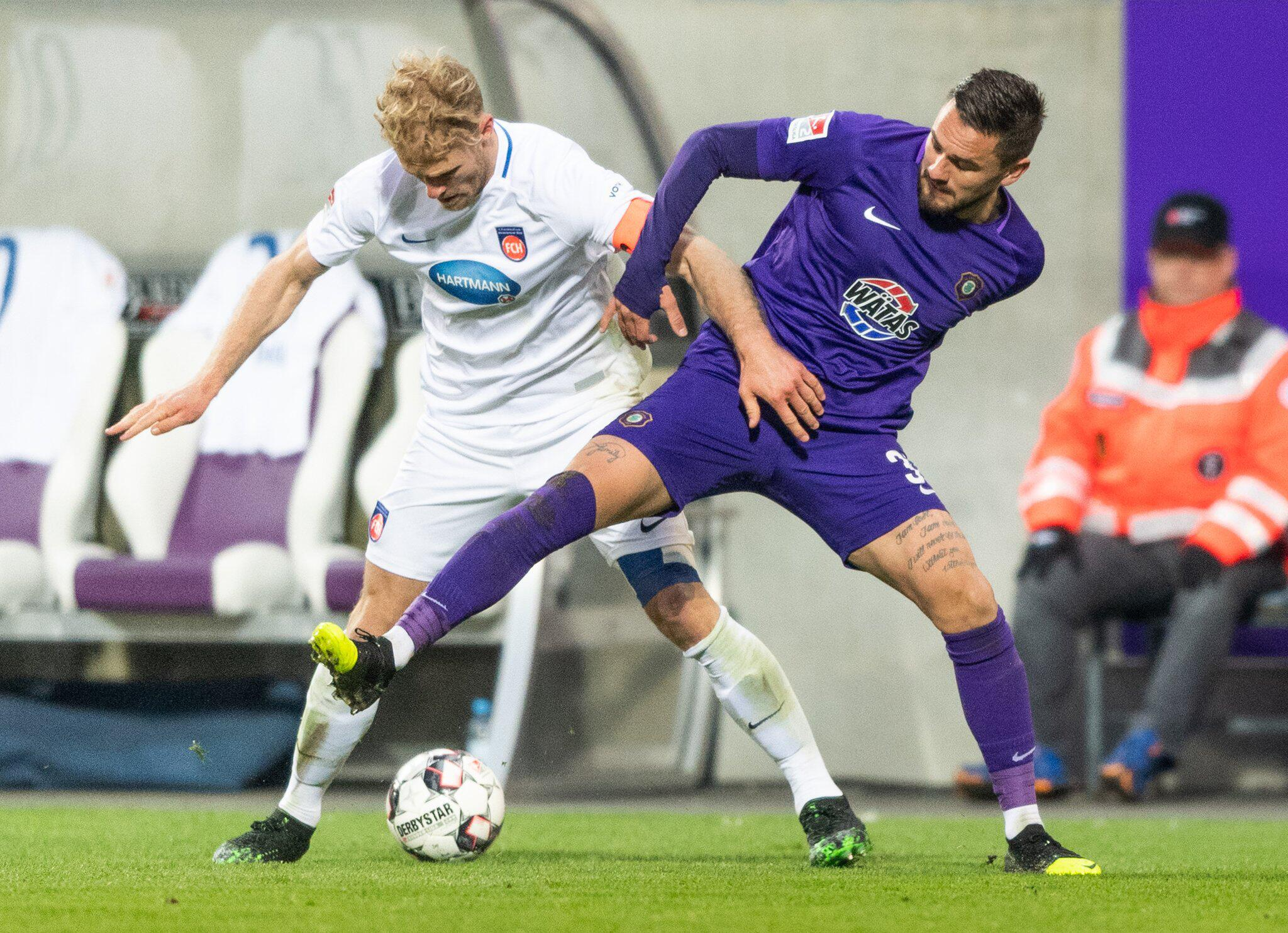 Bild zu Ore Mountains Aue - 1st FC Heidenheim
