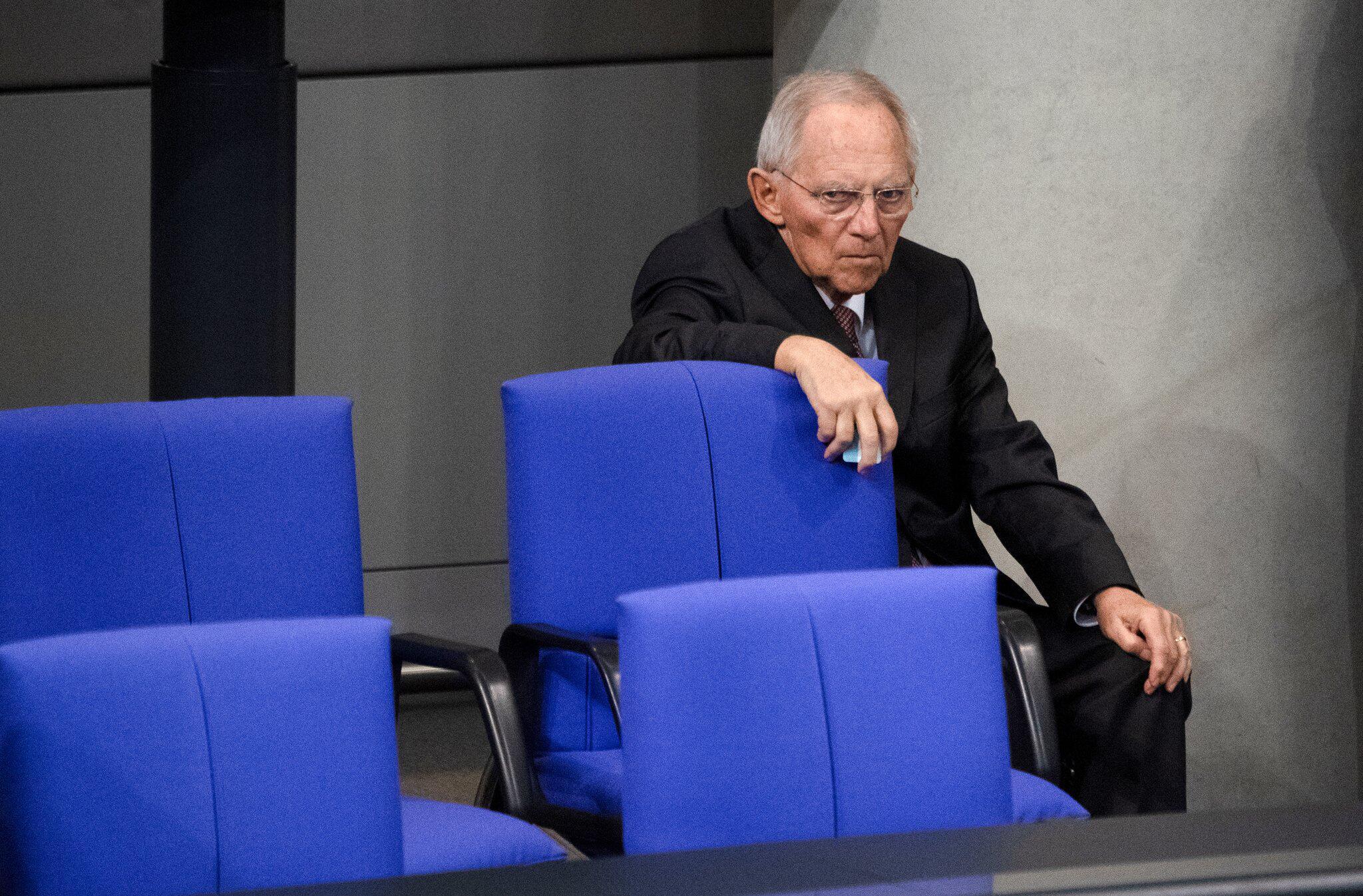 Bild zu Wolfgang Schäuble