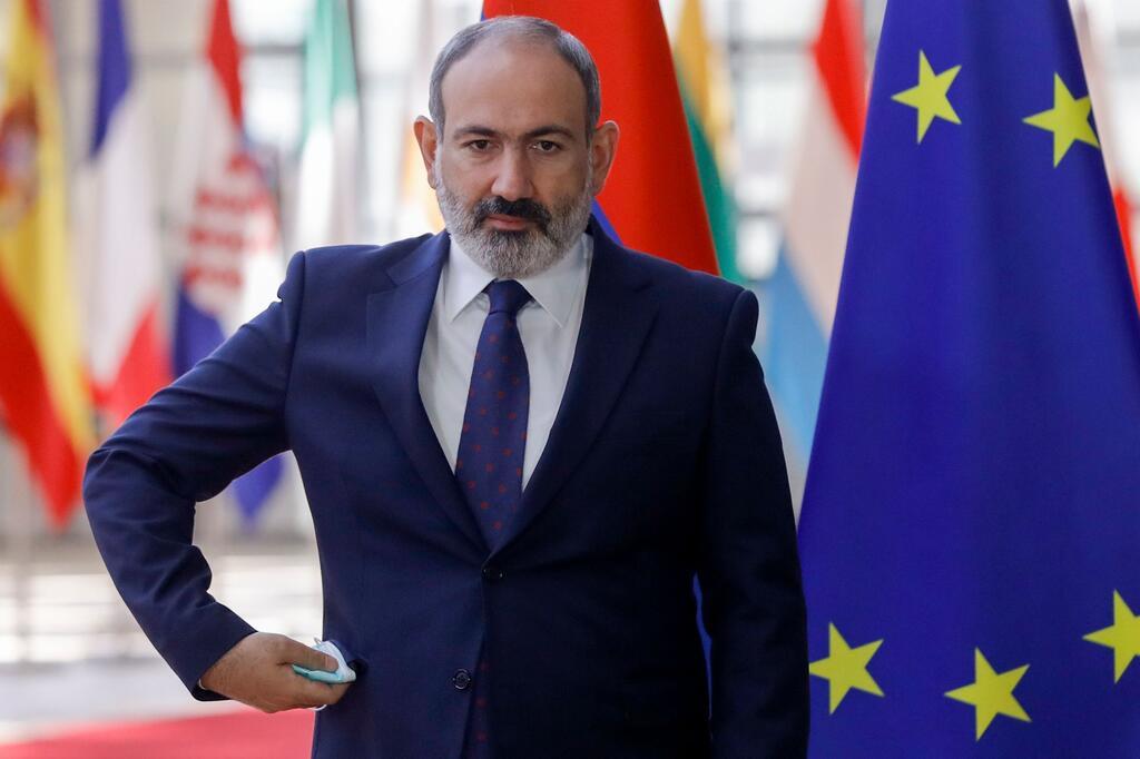 Armenischer Ministerpräsident Paschinjan in Brüssel