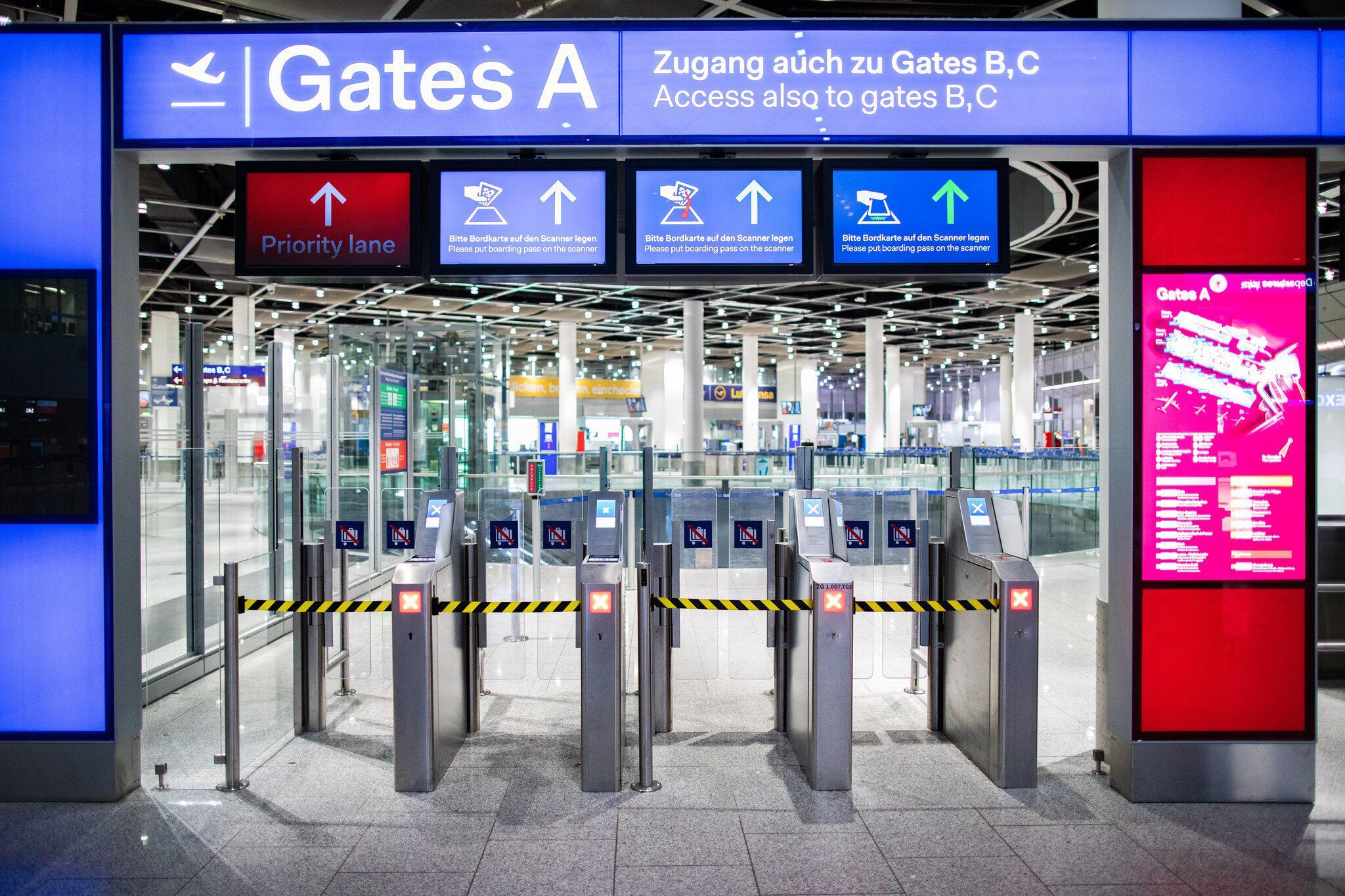 Bild zu Warning strike at Düsseldorf airport