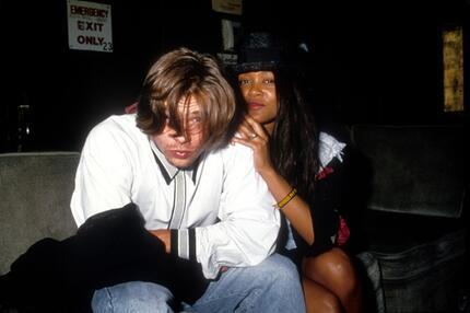Brad Pitt, Freundin, Robin Givens