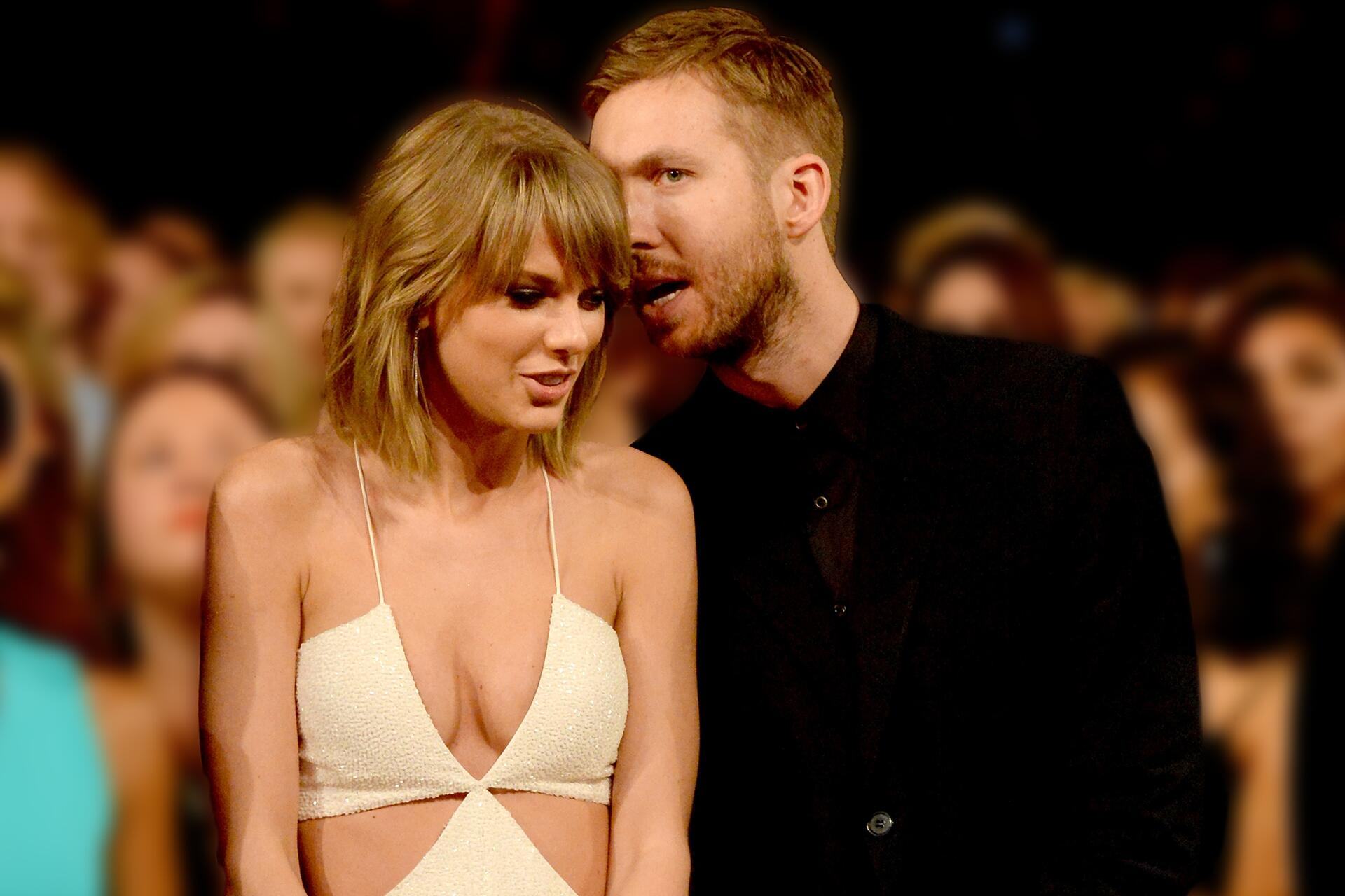 Bild zu Taylor Swift, Calvin Harris, Dreunde, vertragen