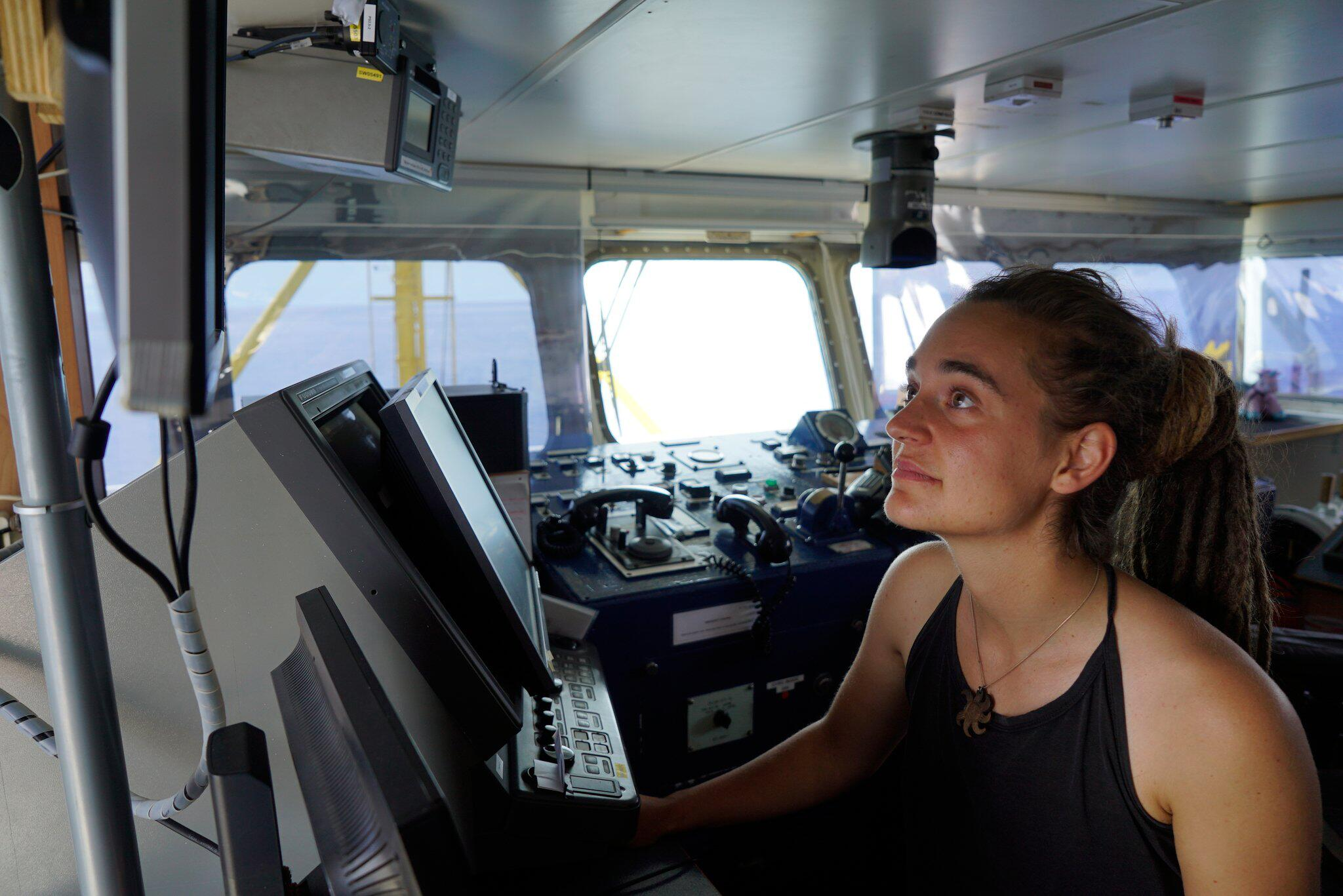 Bild zu «Sea-Watch 3» - Kapitänin Carola Rackete