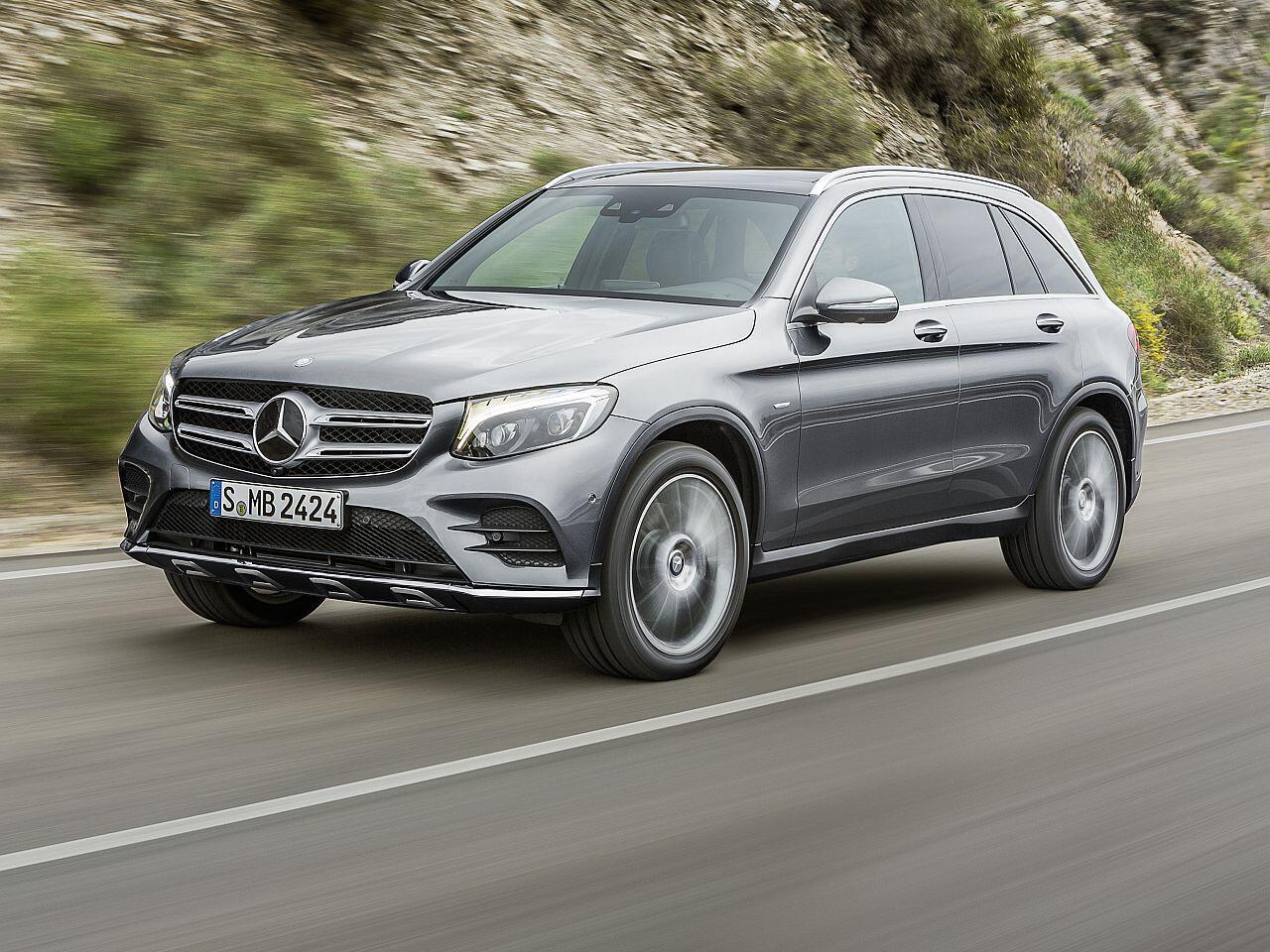 Bild zu Platz 2: Mercedes-Benz GLK/GLC
