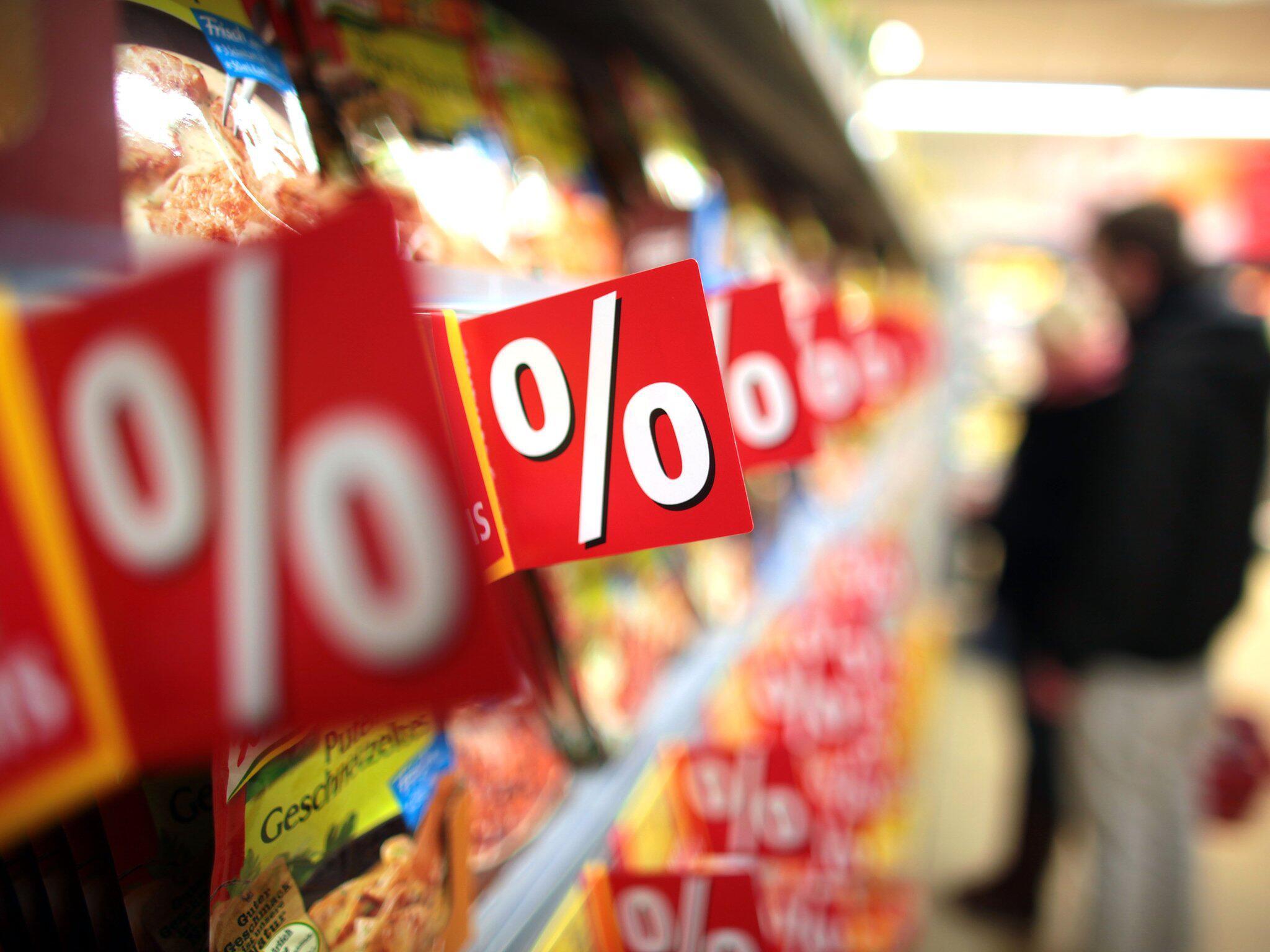 Bild zu Sonderangebote im Lebensmittelhandel