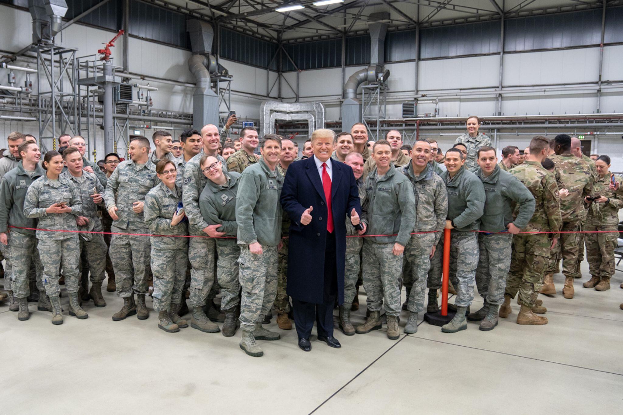 Bild zu US-Truppenabzug aus Deutschland beschlossen