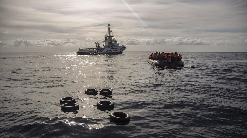 Flüchtlinge vor Libyens Küste