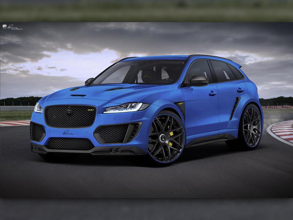 Bild zu Jaguar F-Pace von Lumma Design