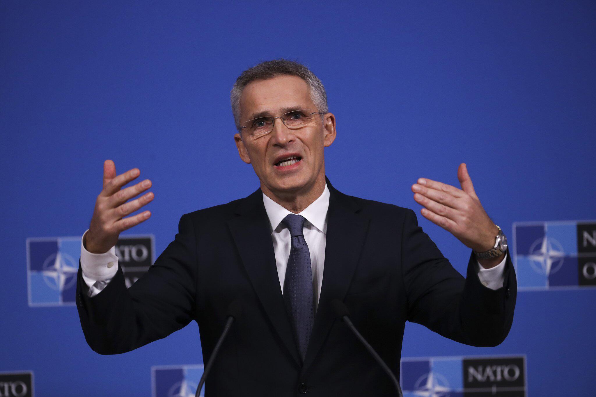 Bild zu Stoltenberg vor NATO-Außenministertreffen