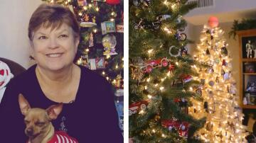 Bild zu Frau hat 106 Weihnachtsbäume