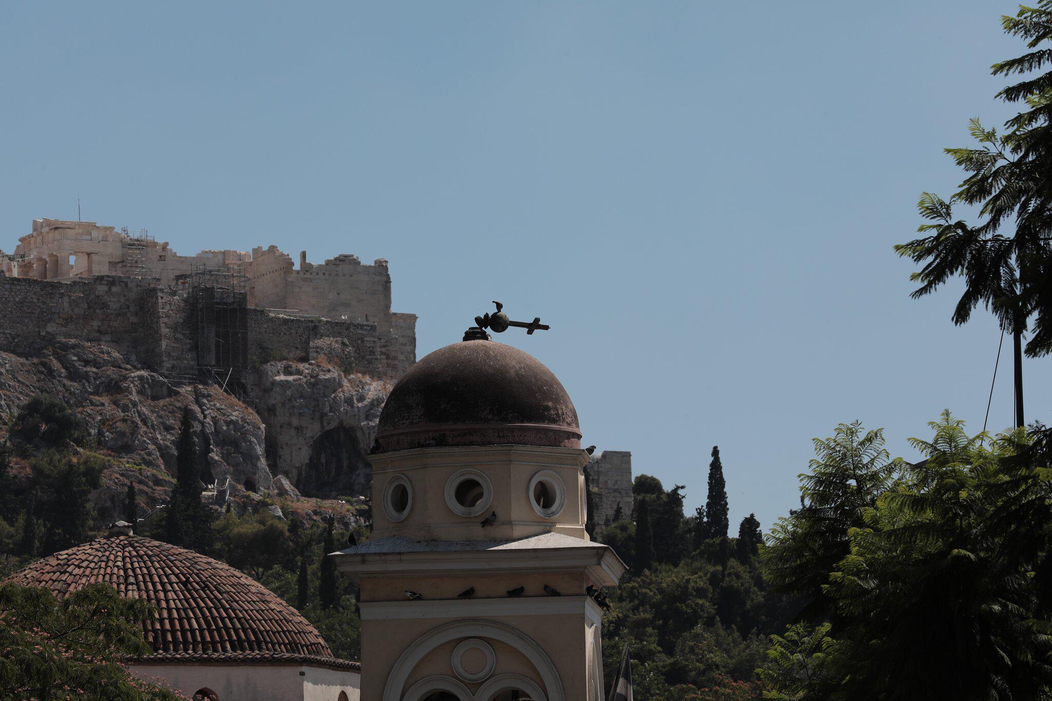 Bild zu Starkes Erdbeben erschüttert Athen