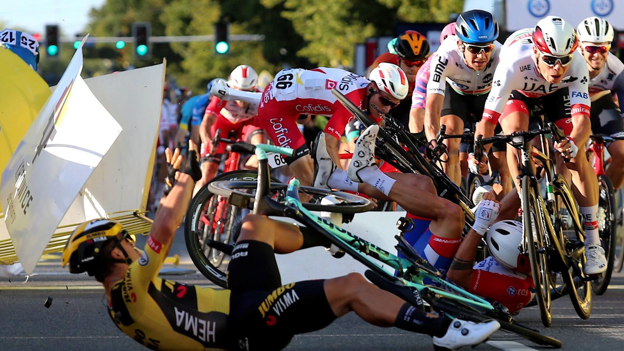 "Bild zu Erste Etappe der ""Tour de Pologne"""