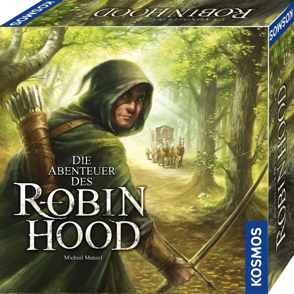 Gellschaftsspiele, Spieleabend, Brettspiele, Robin Hood, Kosmos