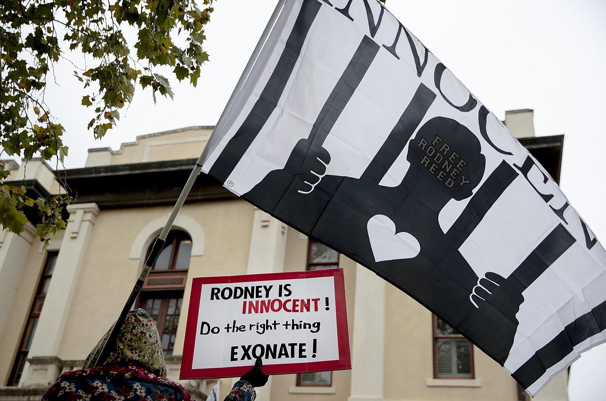 Bild zu Protest gegen Hinrichtung von Häftling Reed in Texas