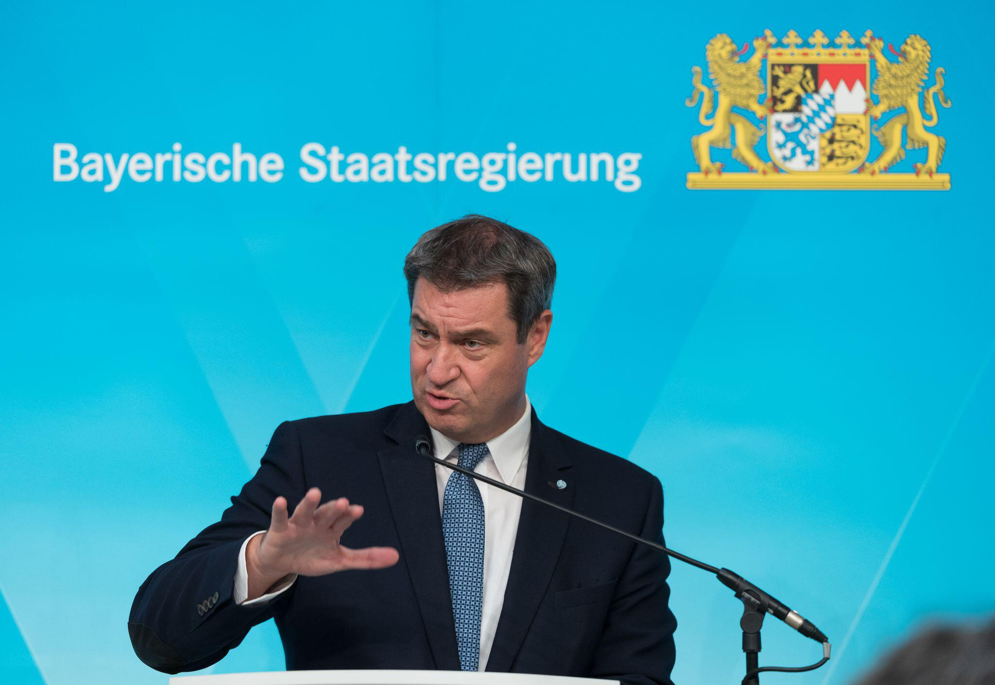 Bild zu Sitzung des bayerischen Kabinetts
