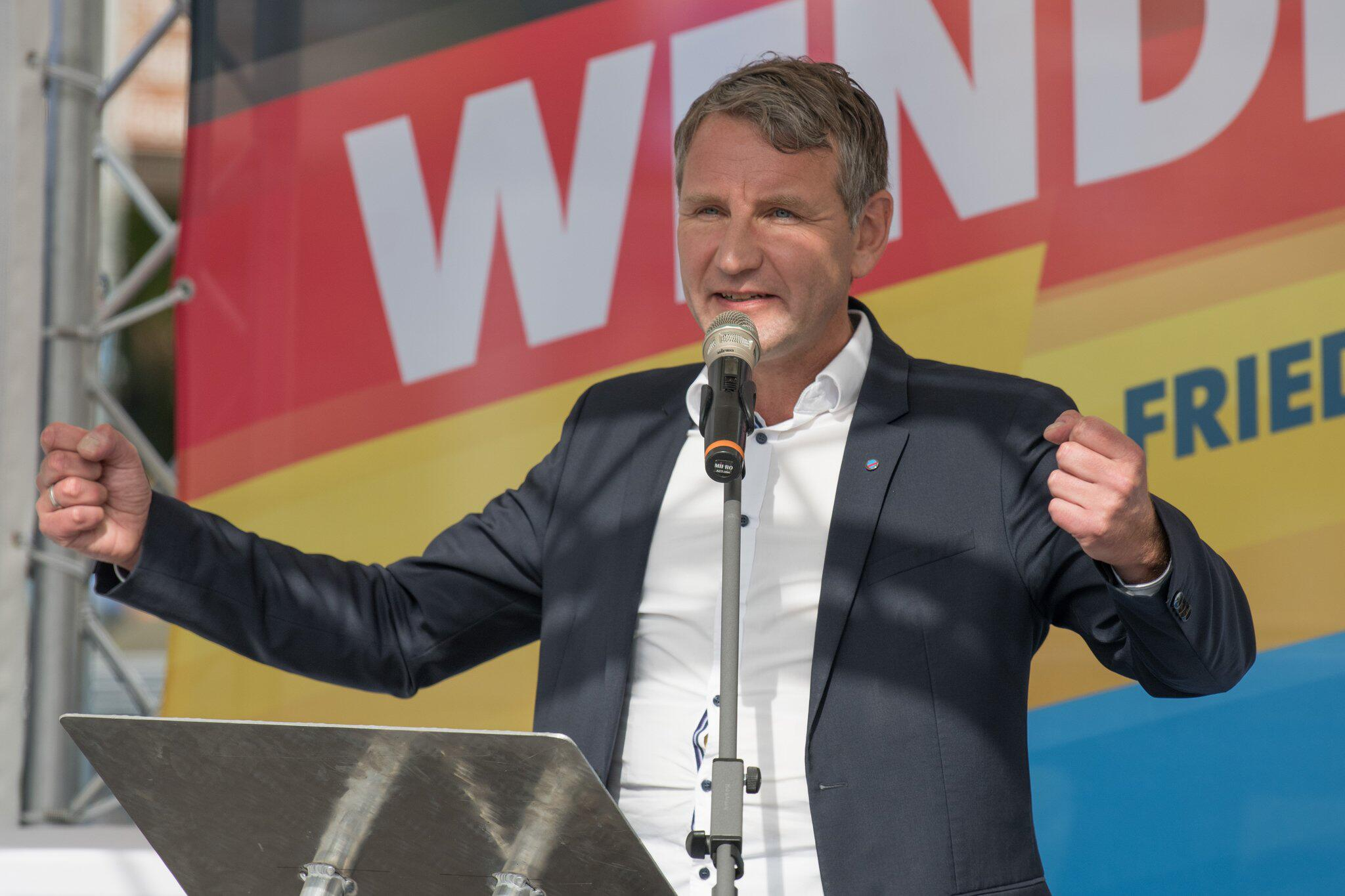 Bild zu AfD Brandenburg's election campaign kicks off before state elections