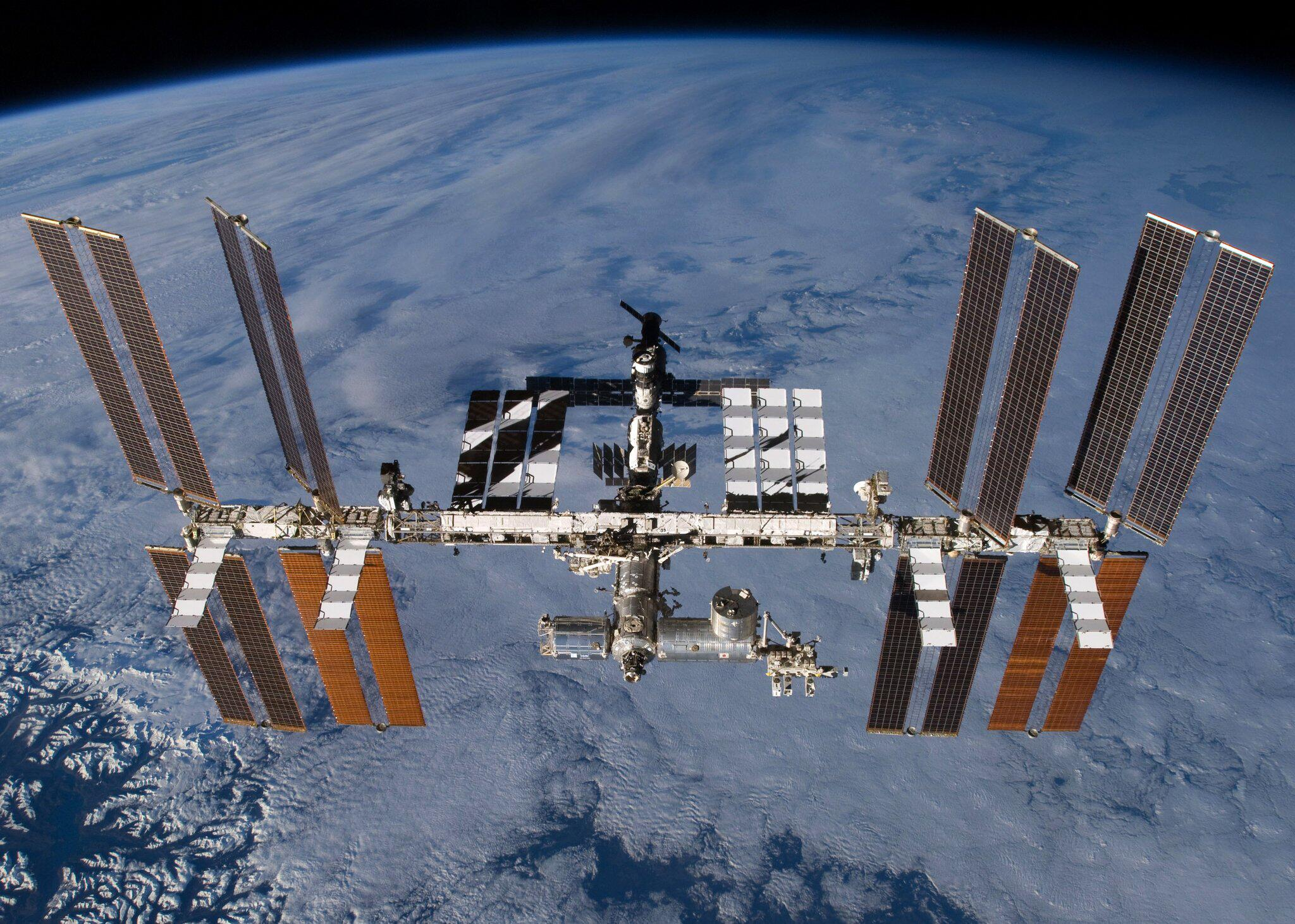 Bild zu Internationalen Raumstation (ISS)