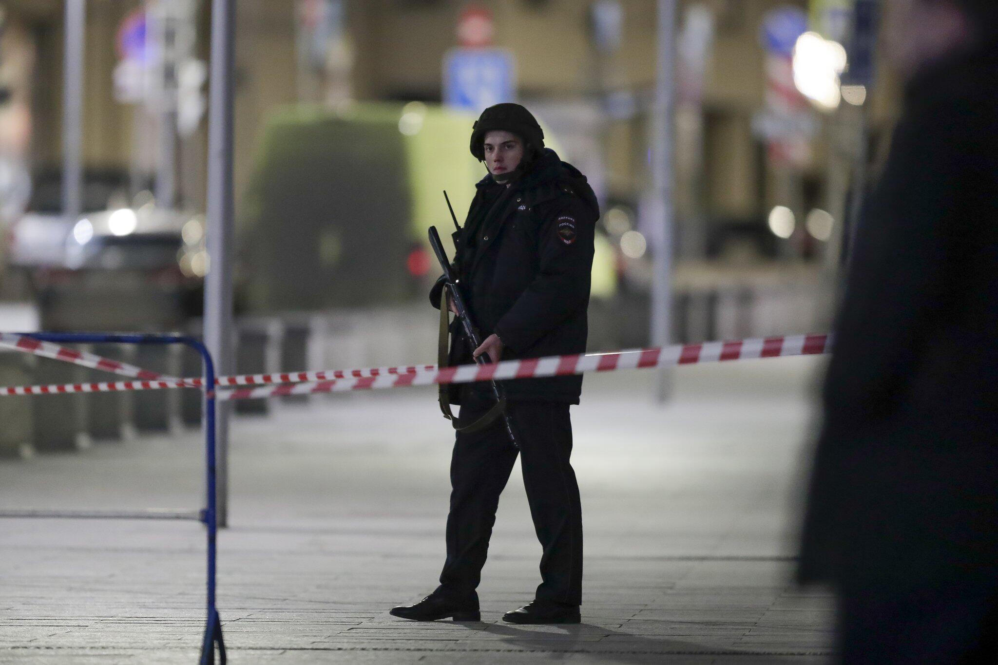 Bild zu Unbekannter schießt an Geheimdienst-Zentrale in Moskau