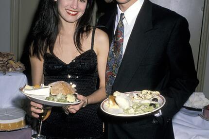 Brad Pitt, Freundin, Jill Schoelen