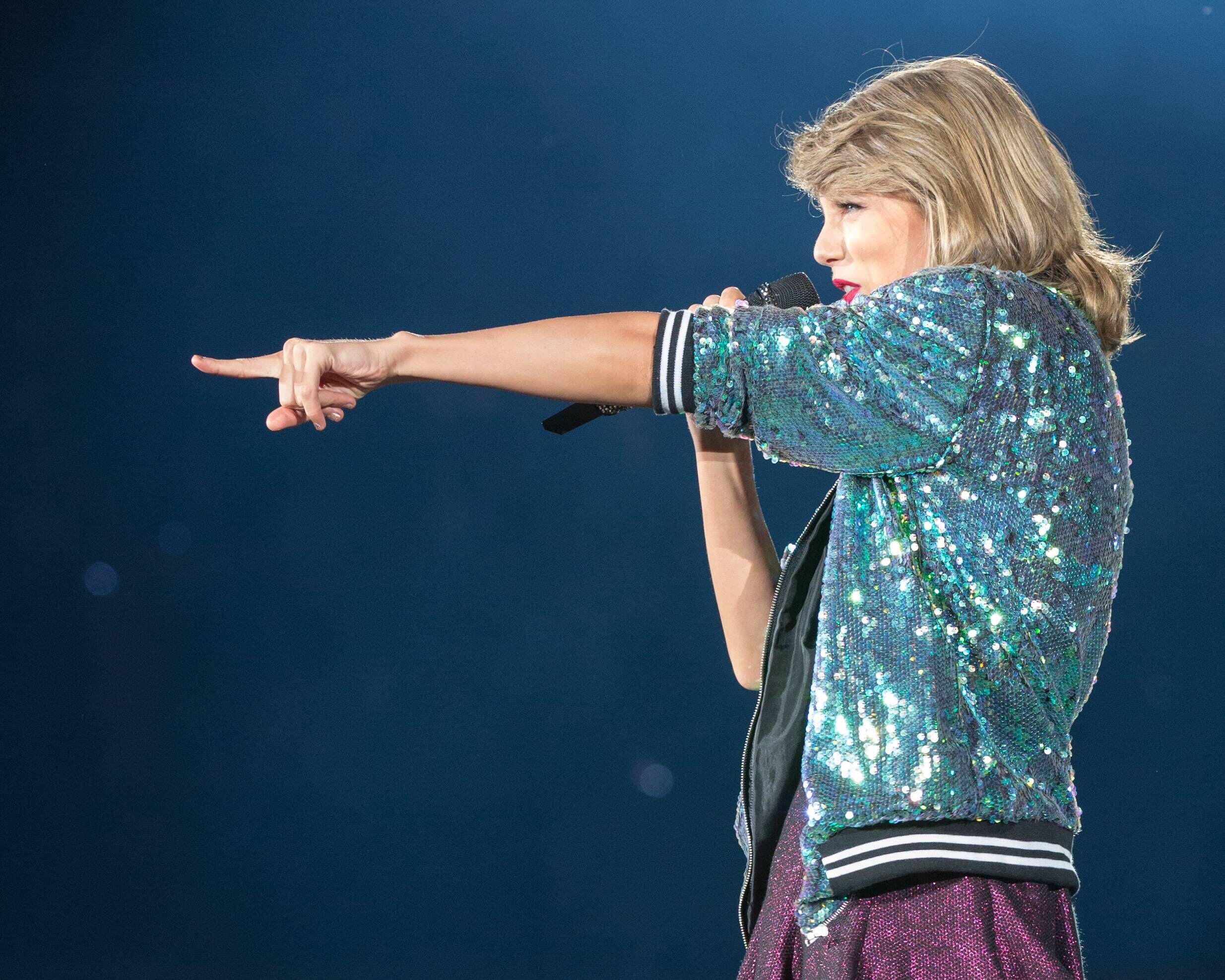 Bild zu Taylor Swift live