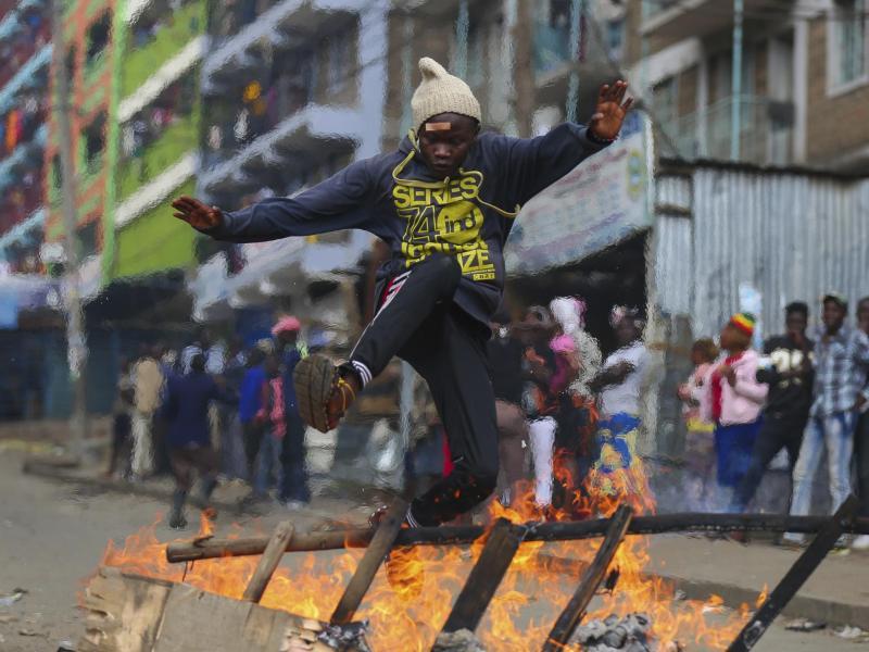 Bild zu Wahlen in Kenia