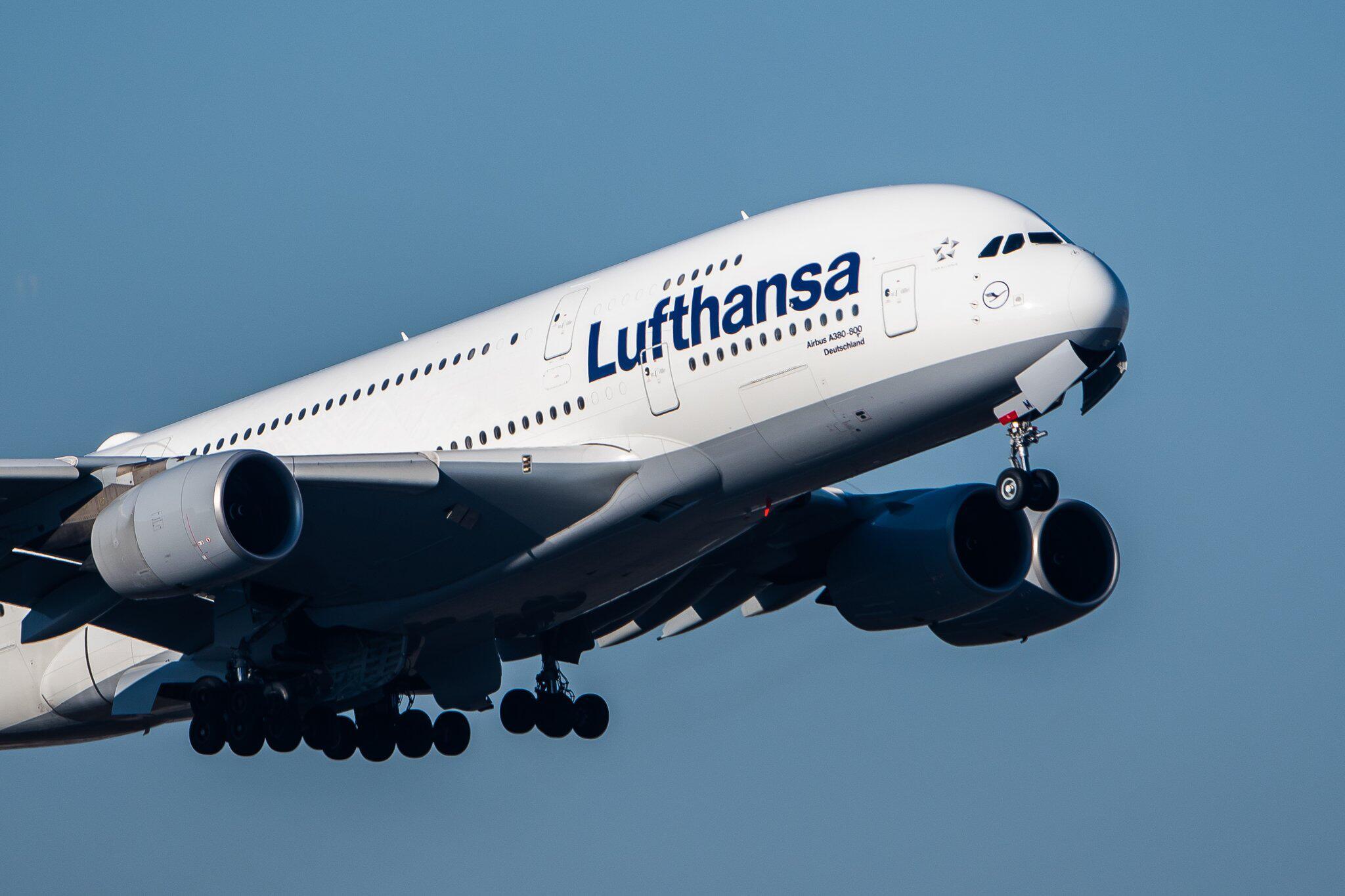 Bild zu Lufthansa-Airbus