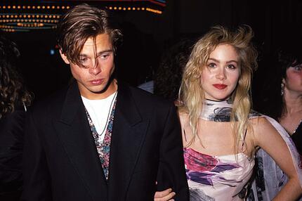 Brad Pitt, Freundin, Christina Applegate