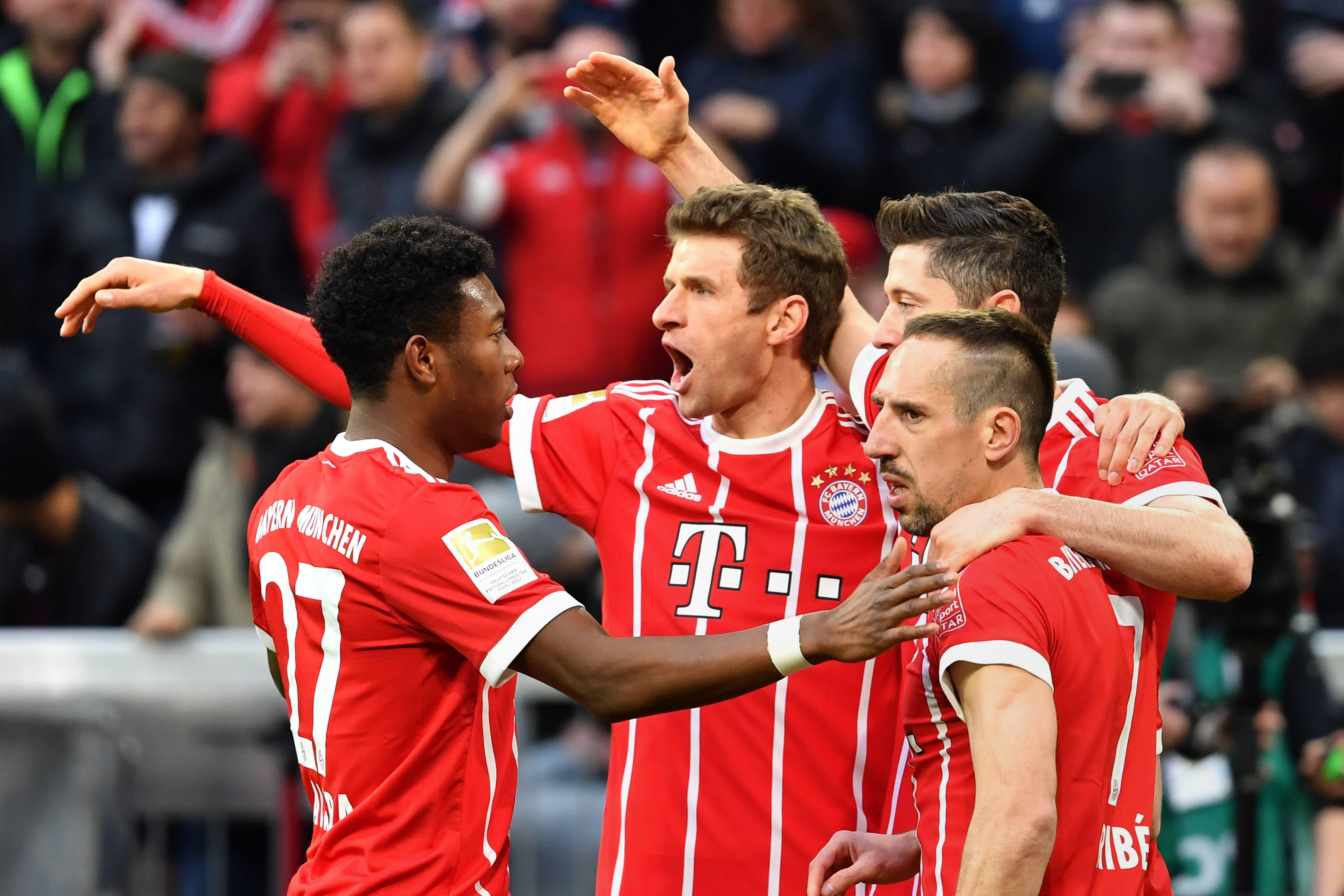 Bild zu FC Bayern, Champions League, FC Sevilla, Thomas Müller, Viertelfinale