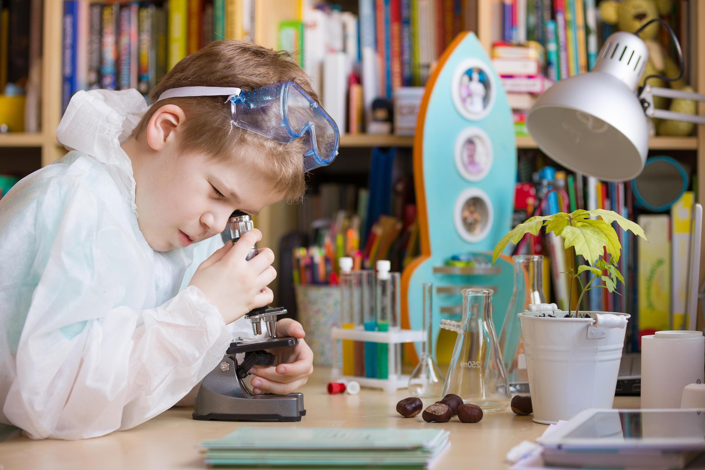 Bild zu kinder, spiele, erklären, wissenschaft, experimente, experimentierkasten, kosmos, mikroskop