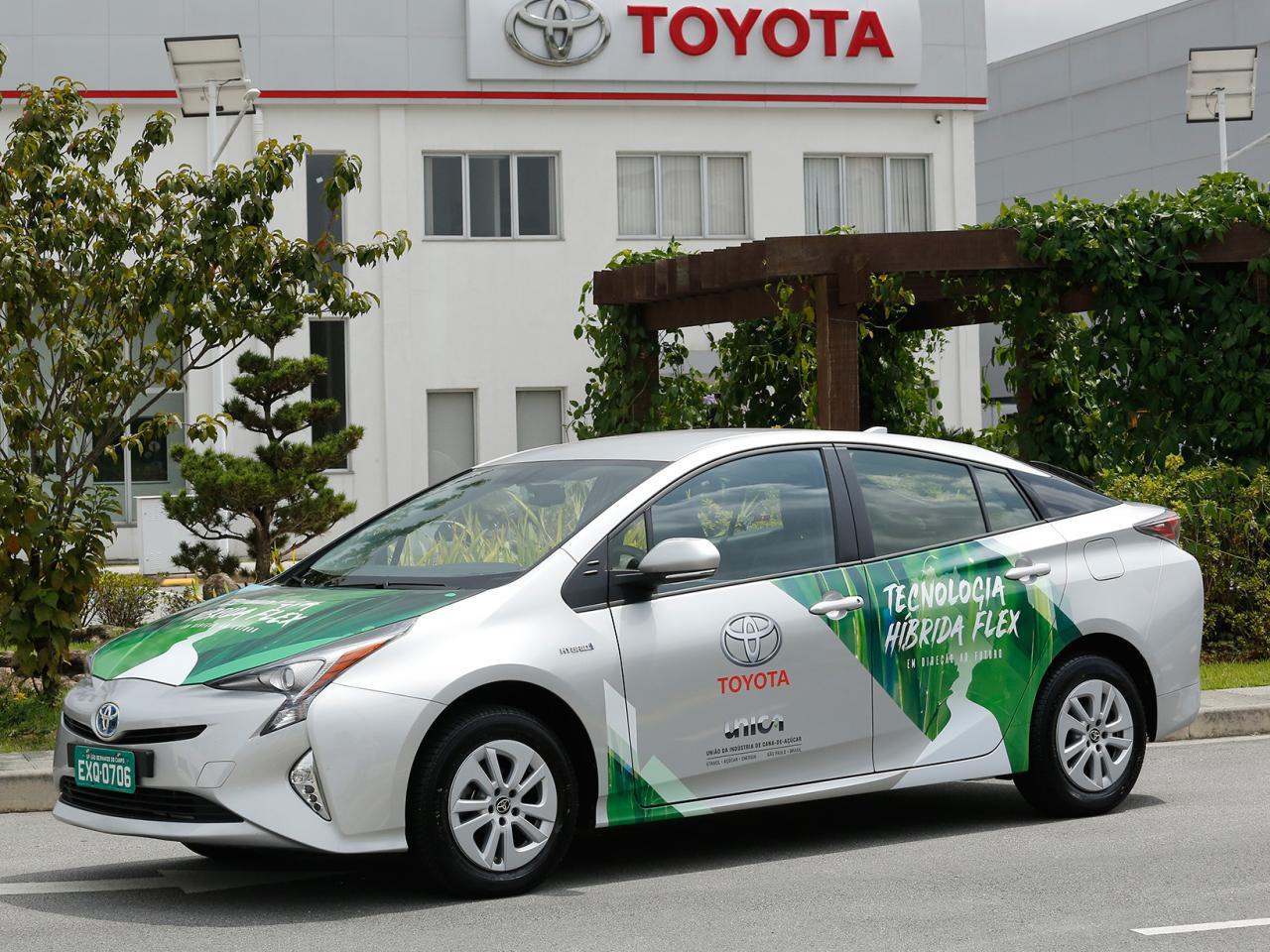 Bild zu Toyota Flex Fuel Hybrid