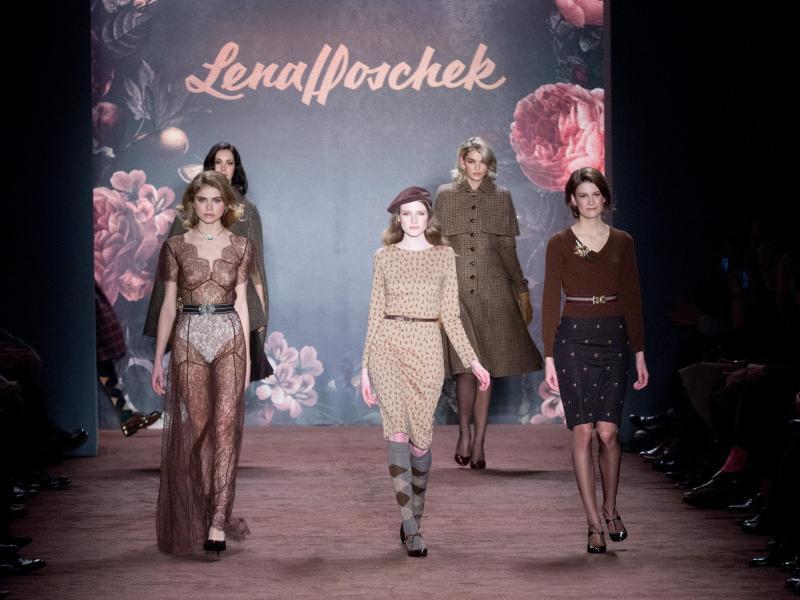 Bild zu Berliner Fashion Week - Lena Hoschek