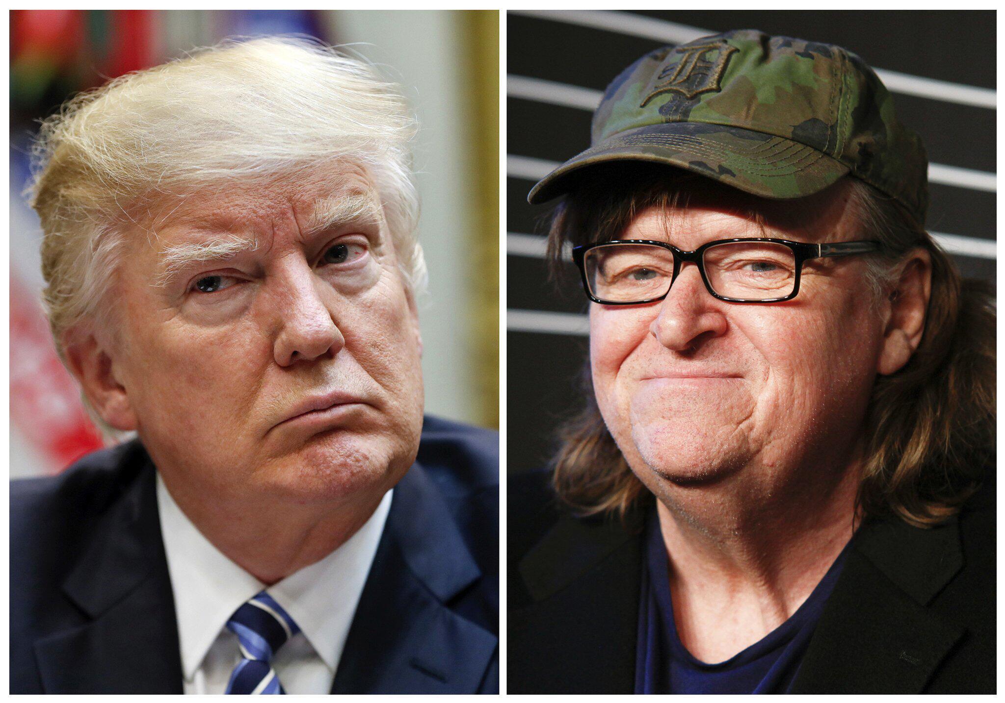 Bild zu Donald Trump, Michael Moore