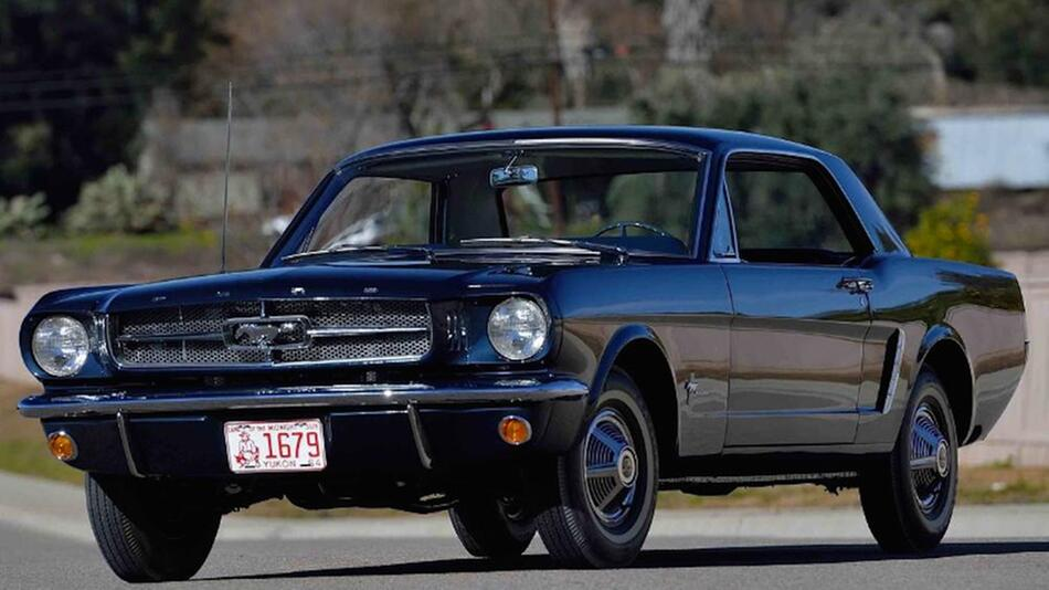 Ford Mustang Mecum Auctions