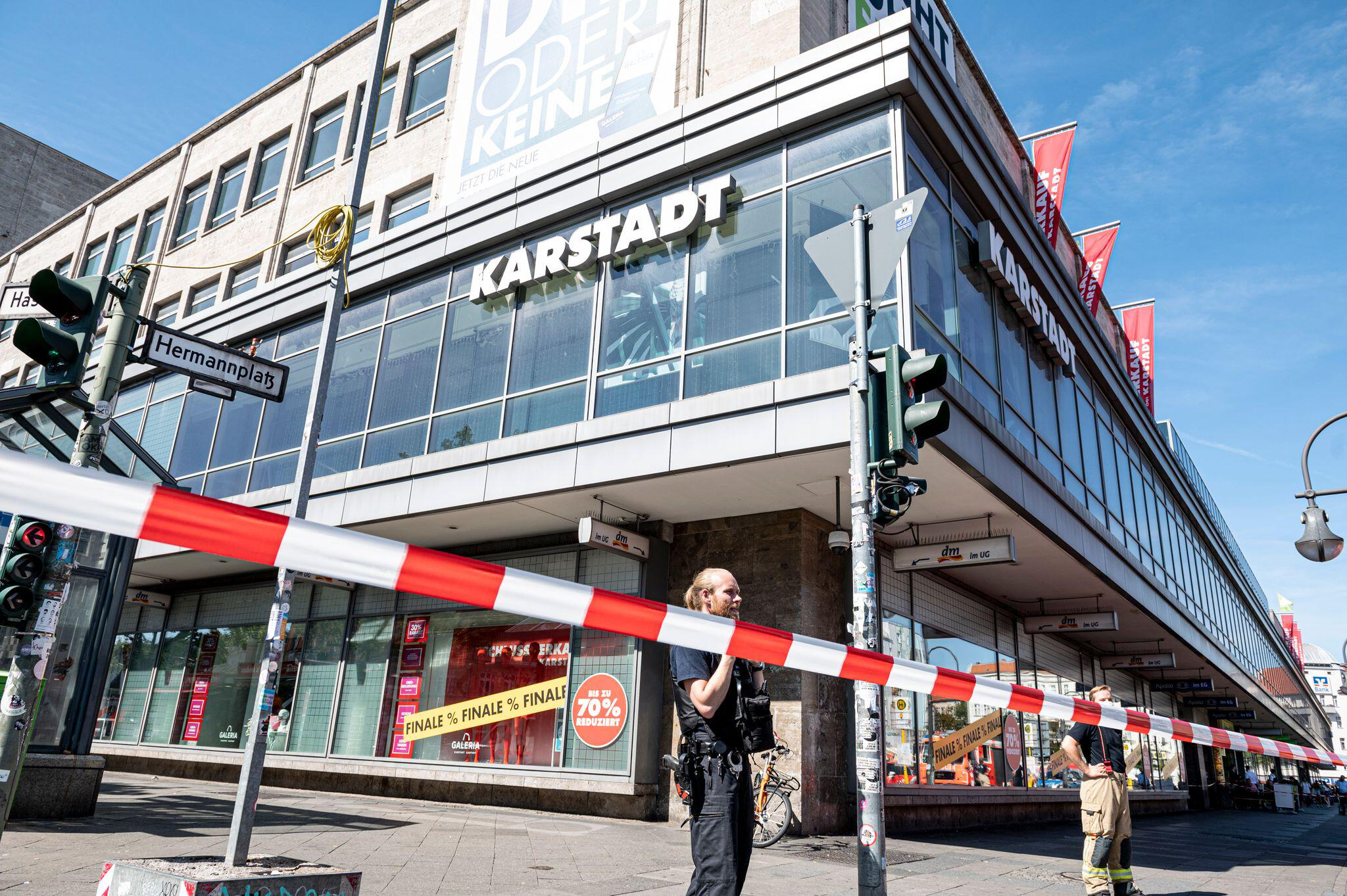 Bild zu Raubüberfall am Hermannplatz