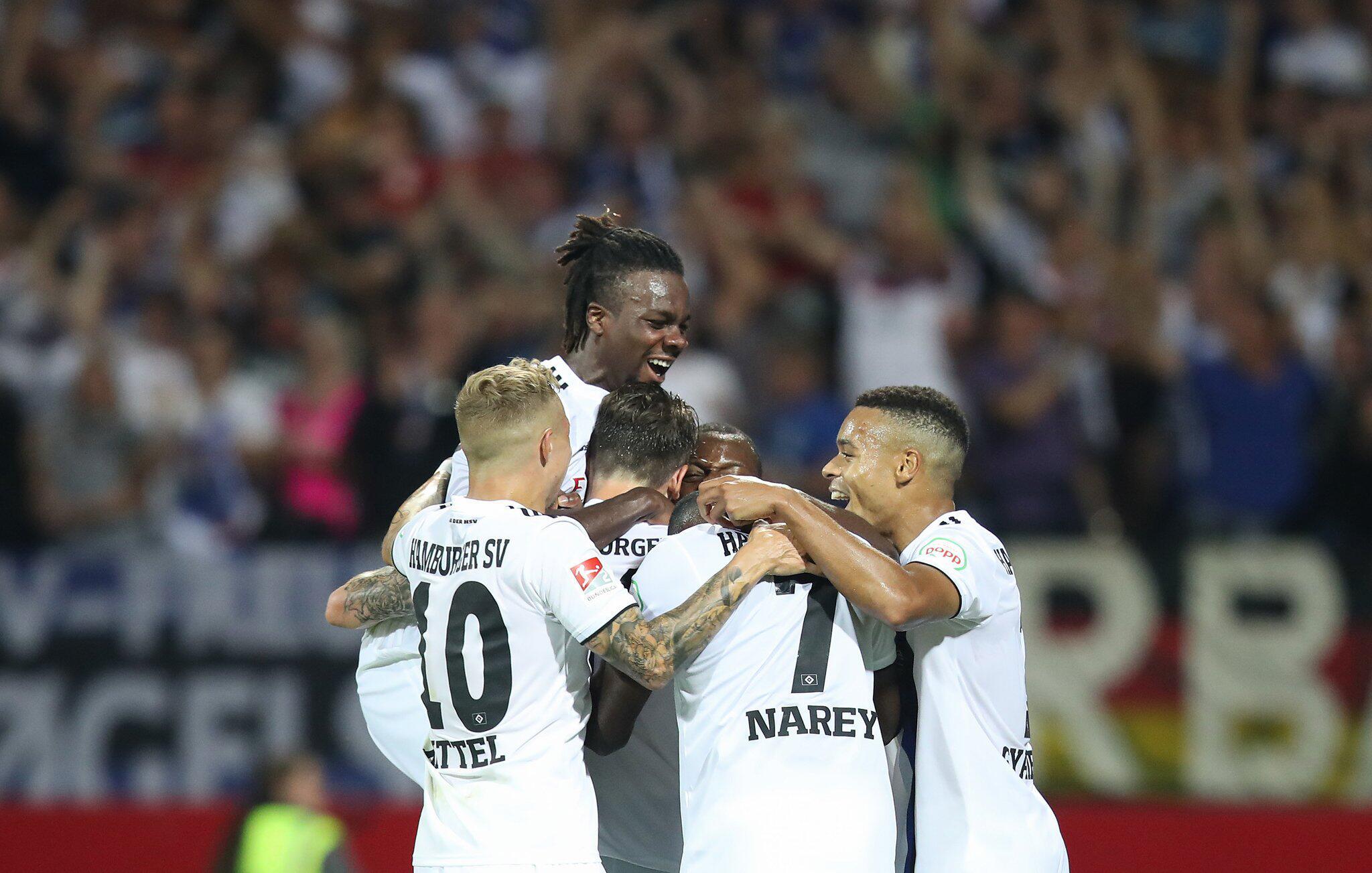 Bild zu 1. FC Nuremberg - Hamburger SV