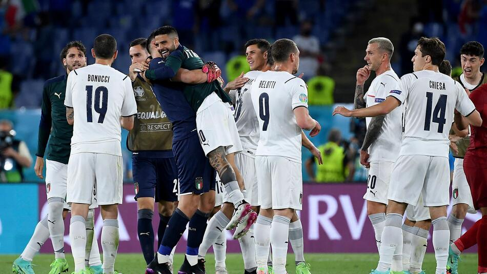 Fußball EM - Türkei - Italien