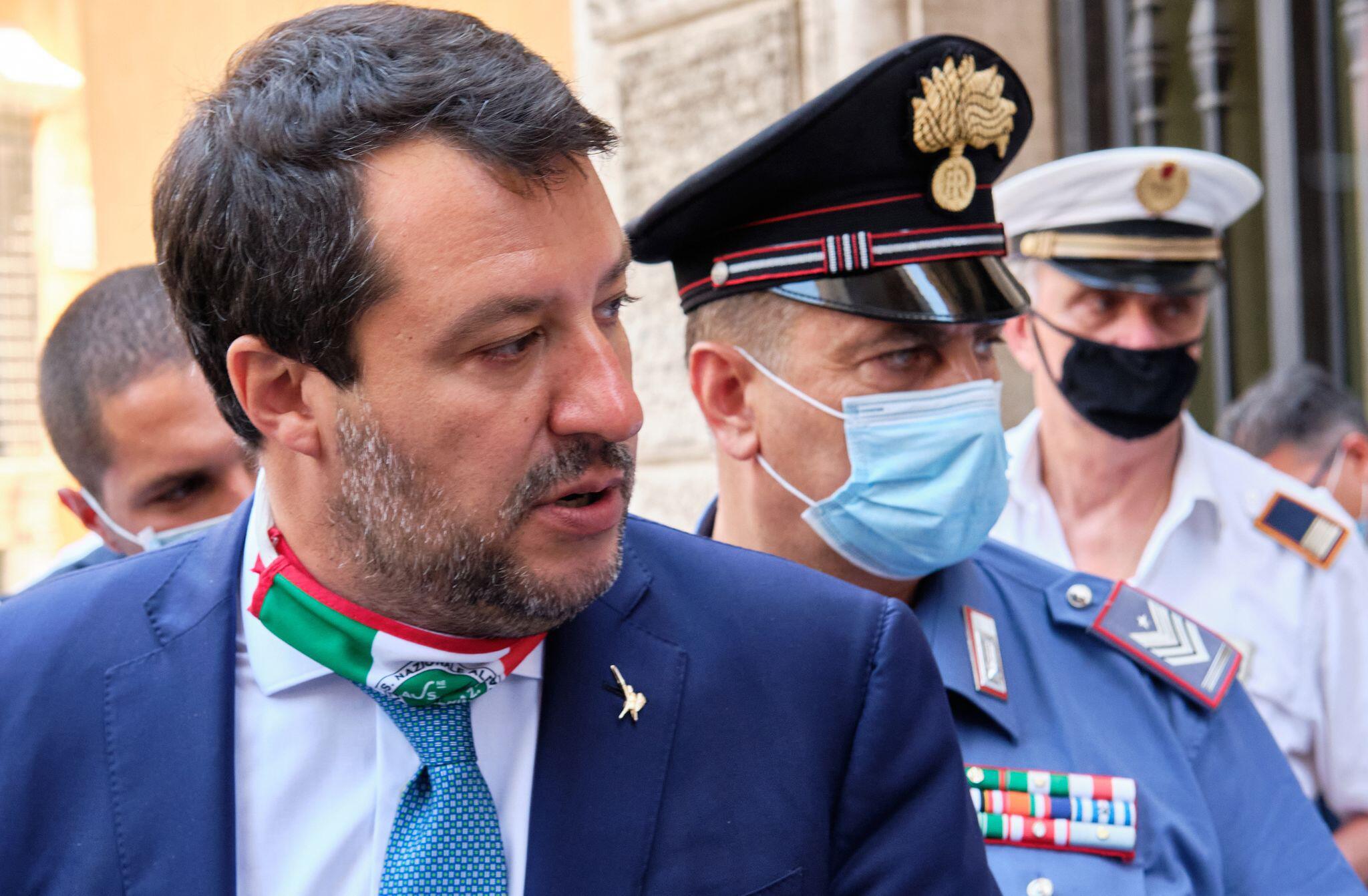 Bild zu Senat stimmt über eine Aufhebung der Immunität von Salvini ab