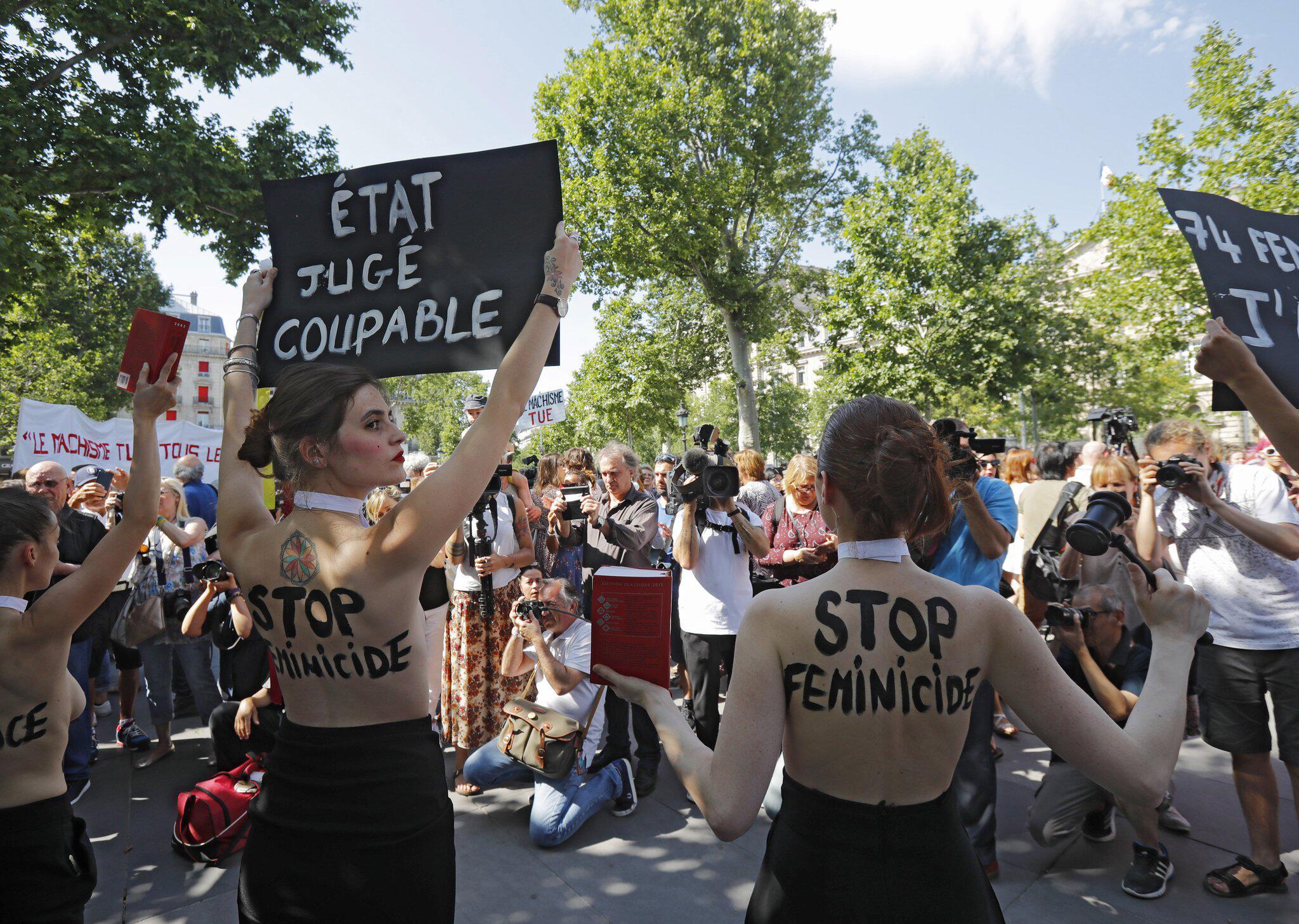 Bild zu Femen-Protest in Frankreich