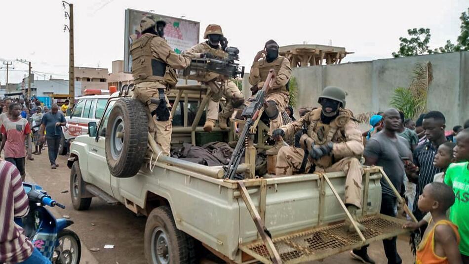 Unruhen in Mali