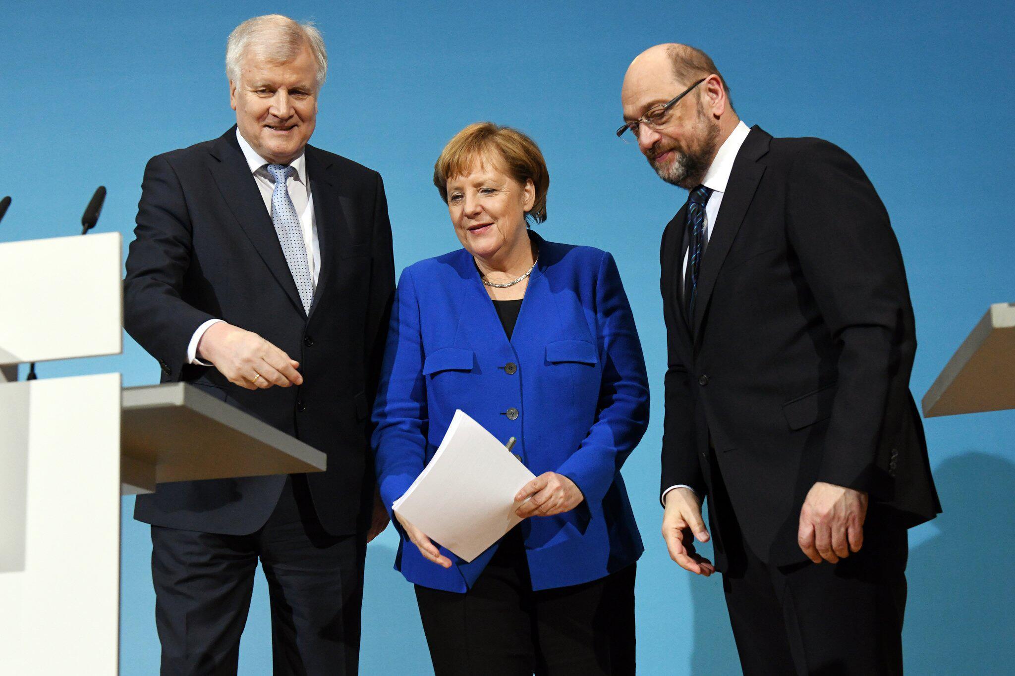Bild zu Sondierungen von Union und SPD