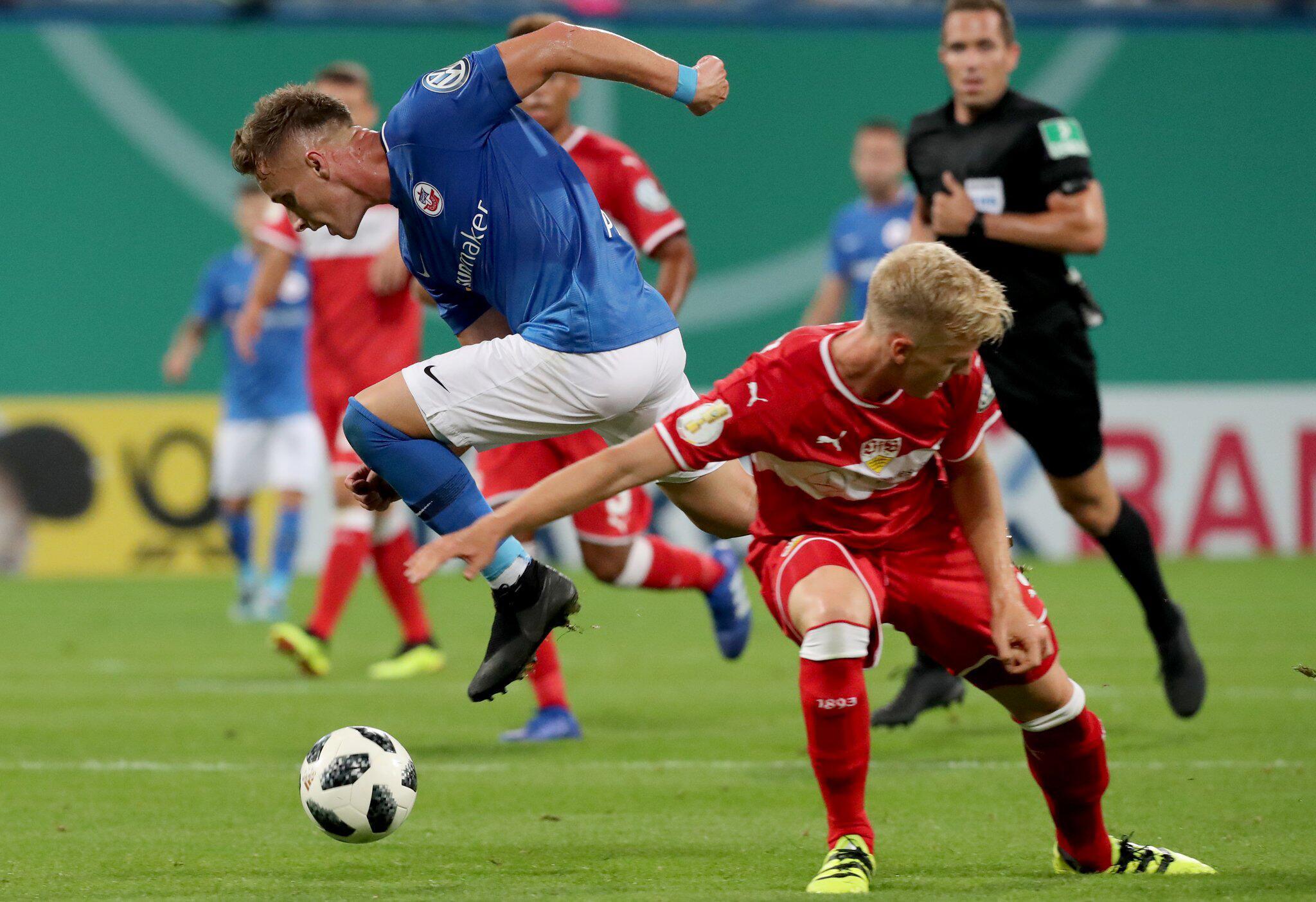 Bild zu Hansa Rostock - VfB Stuttgart