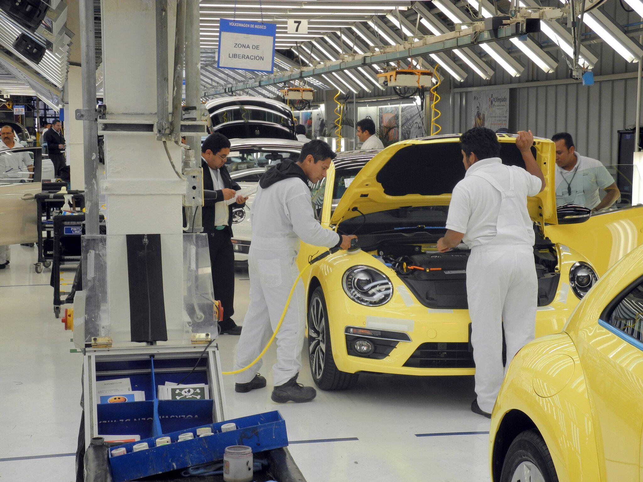 Bild zu VW-Werk in Puebla