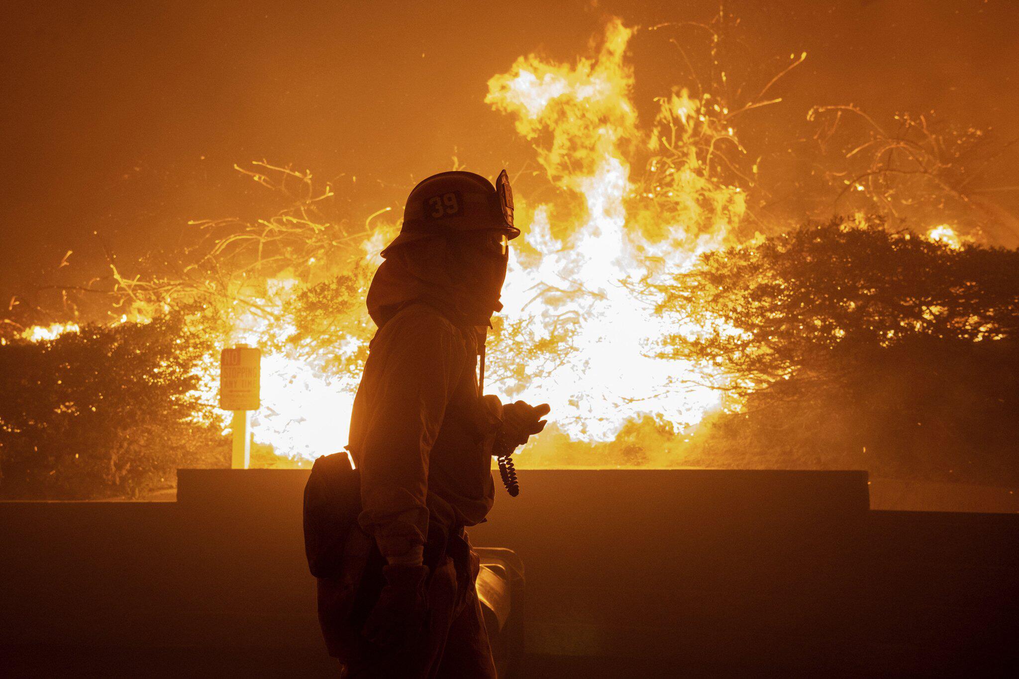 Bild zu Kalifornische Waldbrände