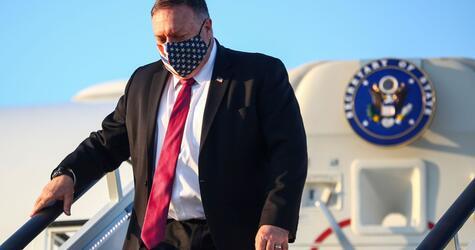 US-Außenminister Pompeo in Großbritannien