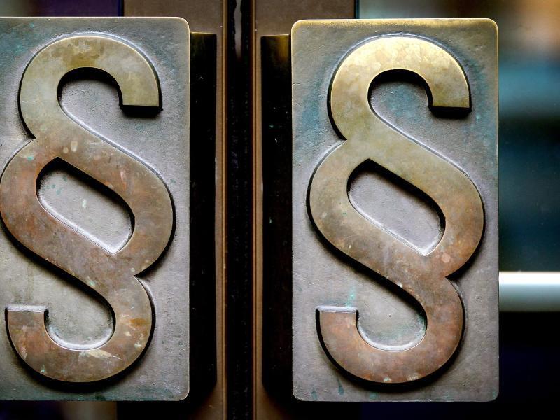 Bild zu Zwei Paragraphensymbole