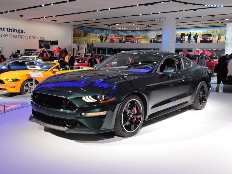Bild zu Ford Mustang «Bullitt»
