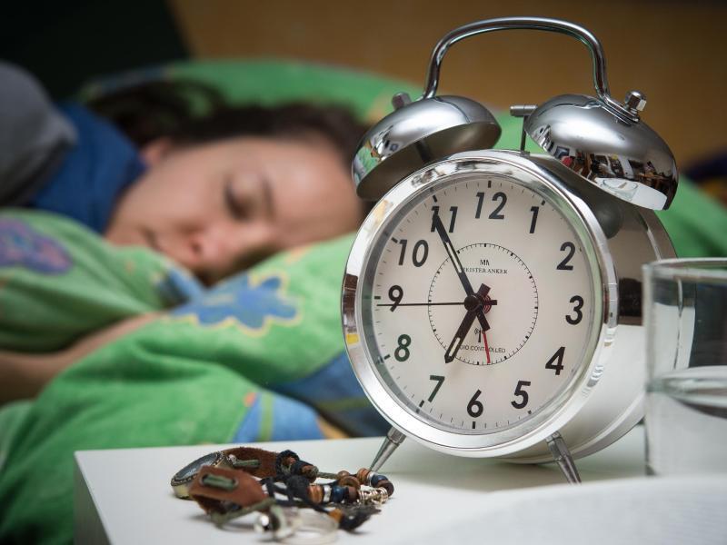 Bild zu Zu lange geschlafen