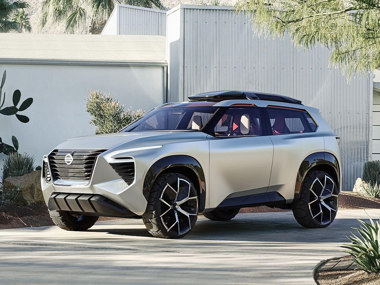 Bild zu Nissan Xmotion concept: Futuristische Kompakt-SUV-Studie auf der NAIAS